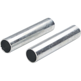 CAMPZ Sleeves for glass fibre poles 13 mm Set of 2, silver